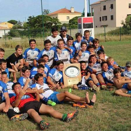U14 BASTIA XV champion du tournoi international de la ville de Bastia 2016/2017